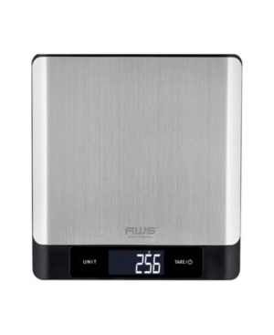 American Weigh Scales Blue Tooth Stainless Steel Kitchen Scale