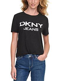 DKNY Jeans Cotton Logo T-Shirt