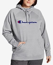 Powerblend Plus Size Logo Hoodie