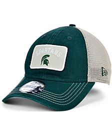 Michigan State Spartans Patch Trucker 9FORTY Cap