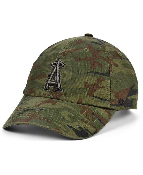 '47 Brand Los Angeles Angels Regiment CLEAN UP Cap