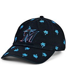 Miami Marlins Women's Confetti Adjustable Cap