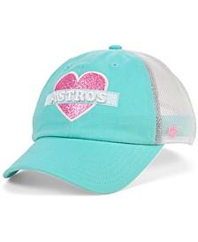 Girls Houston Astros Mermaid Heart MVP Cap
