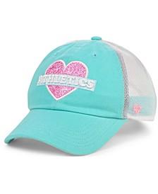 Girls Oakland Athletics Mermaid Heart MVP Cap