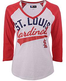 G-III Sports Women's St. Louis Cardinals Its A Game Raglan T-Shirt