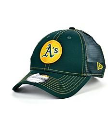 Oakland Athletics Logo Fill Trucker 9FORTY Cap