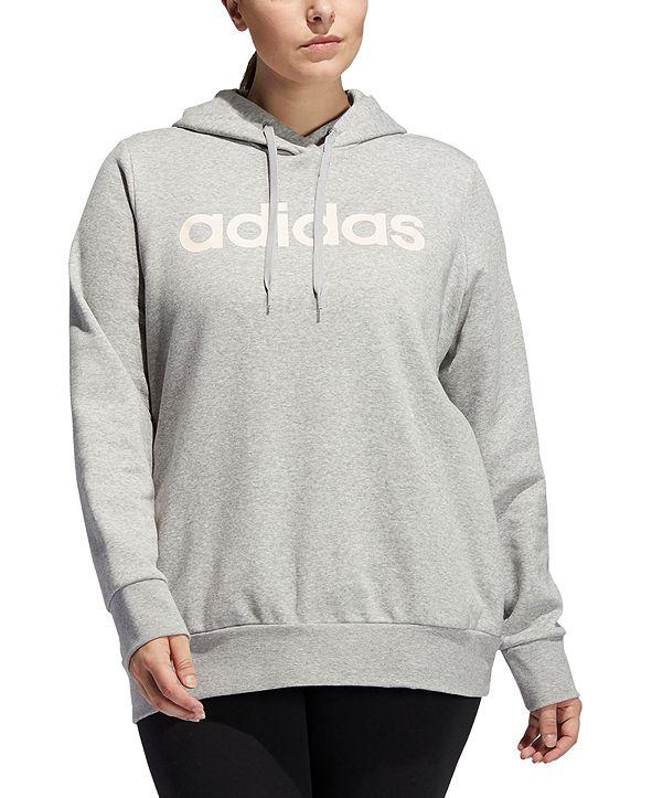 adidas Essentials Plus Size Fleece Hoodie