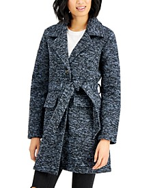 Juniors' Belted Walker Coat