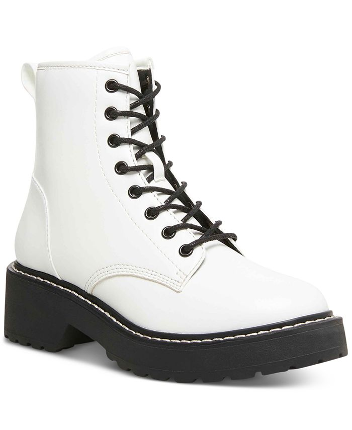 Madden Girl - Carra Lace-Up Combat Boots