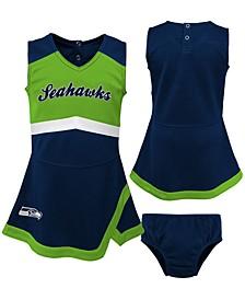 Seattle Seahawks Toddler Girls Cheer Dress