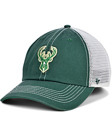 Milwaukee Bucks Trawler Mesh Clean Up Cap