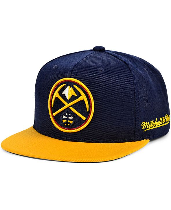 Mitchell & Ness Denver Nuggets The Drop Snapback Cap