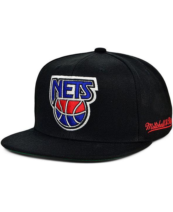 Mitchell & Ness New Jersey Nets The Drop Snapback Cap