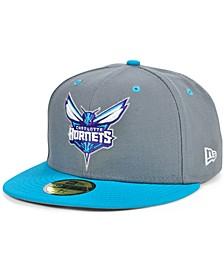 Charlotte Men's Hornets Storm 2 Team Color 59FIFTY Cap