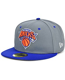 New York Knicks Storm 2 Team Color 59FIFTY Fitted Cap