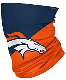 Denver Broncos Colorblock Big Logo Gaiter Scarf