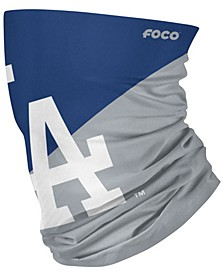 Los Angeles Dodgers Colorblock Big Logo Gaiter Face Mask Scarf