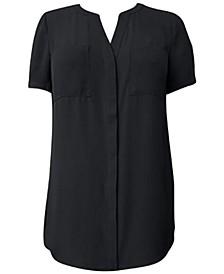 Petite Short-Sleeve Tunic, Created for Macy's