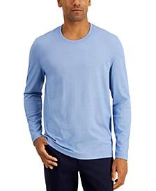 Men's Supima® Blend Crewneck Long-Sleeve T-Shirt, Created for Macy's