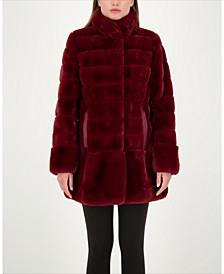 Petite Faux-Fur Coat