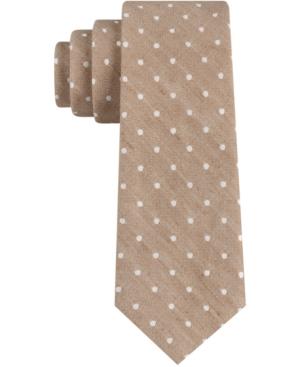 Tommy Hilfiger Men's Glenn Dot Skinny Tie