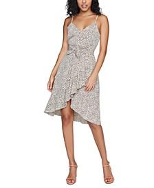 Bianca Leopard Midi Dress