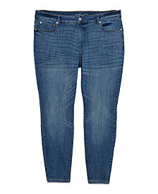 INC Plus Size Madison Skinny Jeans, Created for Macy's