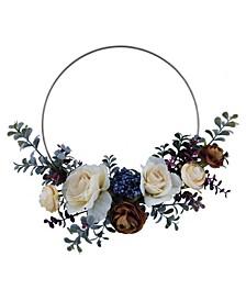 Martha Stewart Assymmetrical Wreath, Created for Macy's