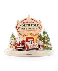 Santa's Post Office Light-Up & Musical Centerpiece
