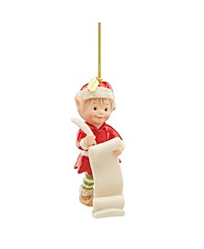 2020 Edwin The Elf Ornament