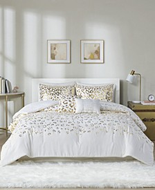 Intelligent Design Lillie 5 Piece Full/Queen Comforter Set