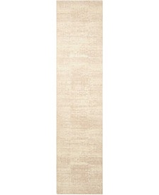 "Silk Elements SKE21 Bone 2'5"" x 10' Runner Rug"