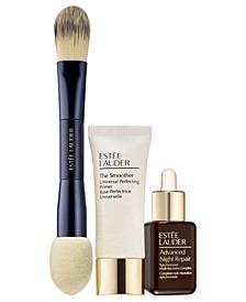 3-Pc. Foundation Set - Only $11 with any Double Wear Stay-in-Place Foundation Purchase (A $76 Value!)
