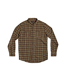 Men's Shadow Sets Flannel Long Sleeve Shirt