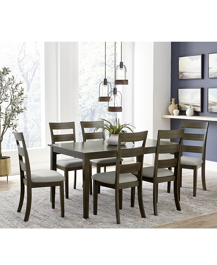 Macy S New River 7 Pc Dining Set, Macys Dining Room Chairs