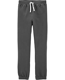 Little Boys Pull-On Fleece Pants
