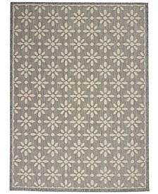 Cozumel CZM03 Gray 4' x 6' Area Rug