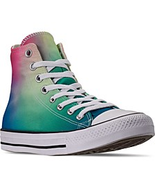 Unisex Chuck Taylor All Star Psychedelic Hoops Tie-Dye High Top Casual Shoes