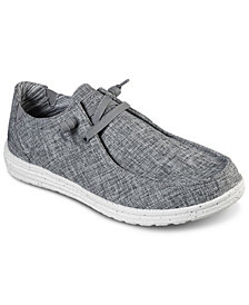 Skechers Men's Relaxed Fit Melson Chad Slip-On Casual Sneakers from Finish Line