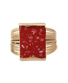 Jasper Stone Cuff Bracelet
