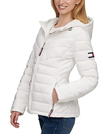 Stretch Packable Puffer Coat