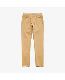 Men's Slim Fit Stretch Gabardine 5-Pocket Chino Pants