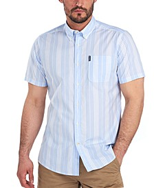 Men's Striped Cotton Shirt