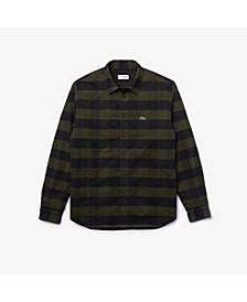 Men's Regular-Fit Plaid Flannel Shirt