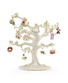 Twelve Days Of Christmas 12-Piece Ornament & Tree Set