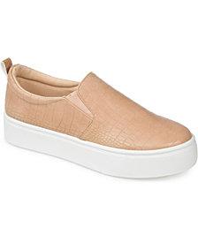 Journee Collection Women's Patrice Platform Sneakers