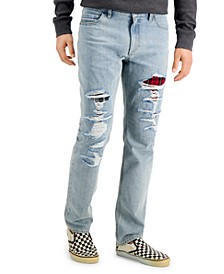 Men's Rio Straight Ripped Jeans, Created for Macy's