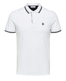 Homme Men's Short Sleeve Polo Shirt