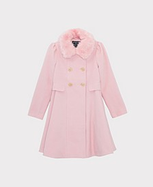 Big Girls Princess Dress Coat