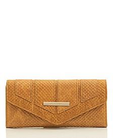 Veronica Reseda Embossed Leather Wallet